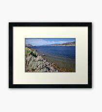 Skaha Lake Framed Print