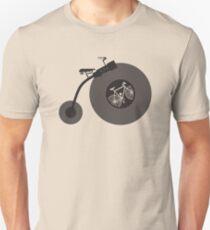 Penny Record Black Unisex T-Shirt