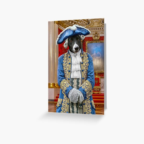 Count Jackula in the Palace Throne Room, St Petersburg Greeting Card