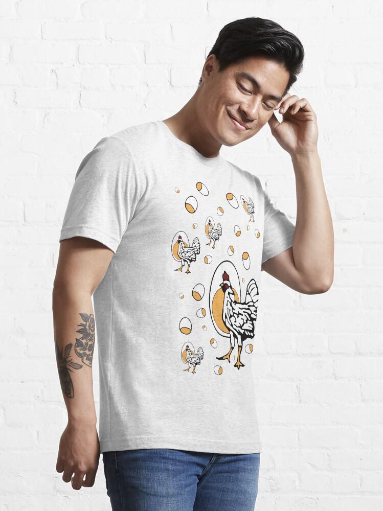 Alternate view of Retro Roseanne Chickens Essential T-Shirt