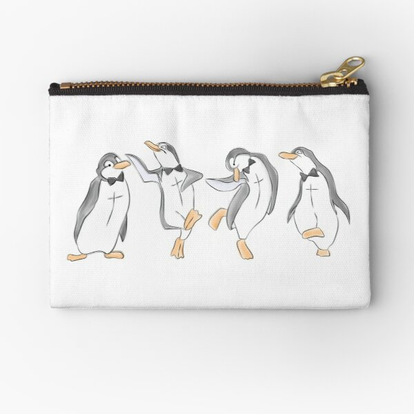 The Penguin Dance Zipper Pouch