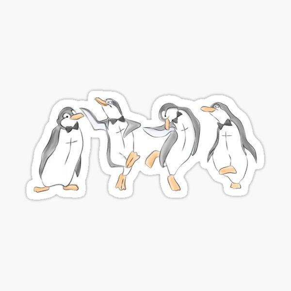 La danse du pingouin Sticker