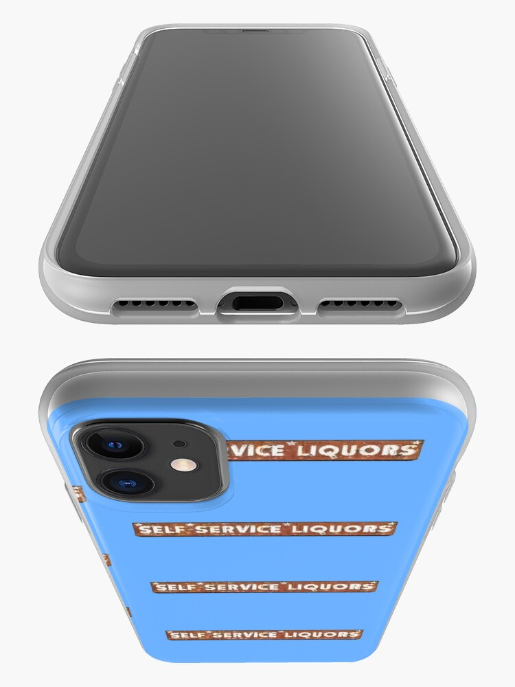 Alternate view of Self Service Liquors iPhone Case & Cover