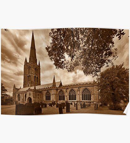 St Wulframs Church, Profile Poster