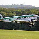Junkers JU-52 - JU-Air - Falken During Take-off by Holger Mader
