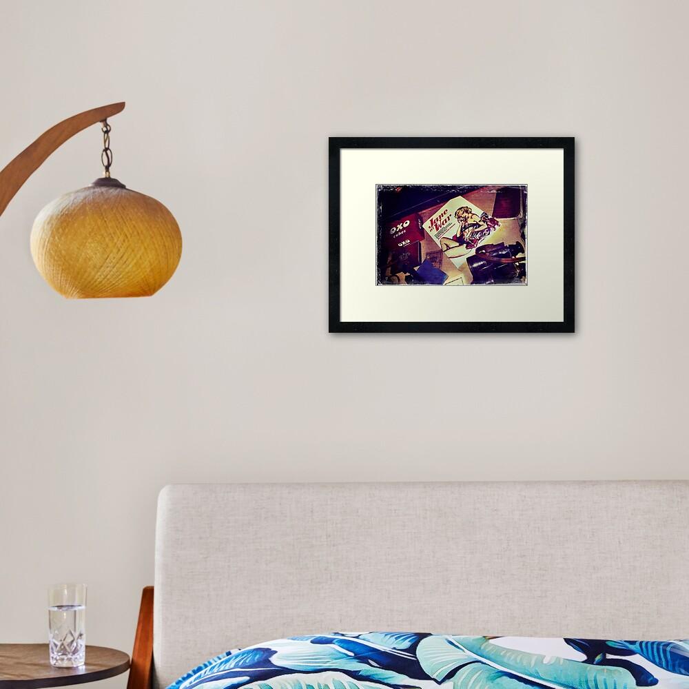 Enigma - Memories II Framed Art Print