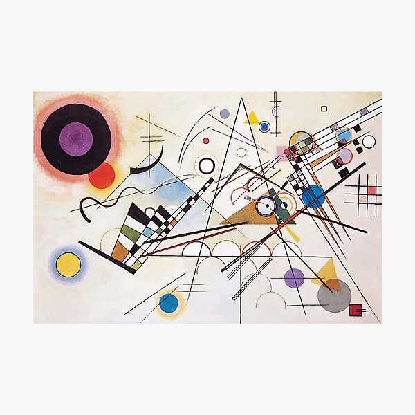 Wassily Kandinsky | Composition VIII Photographic Print