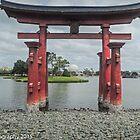 Torii Gate  by John  Kapusta