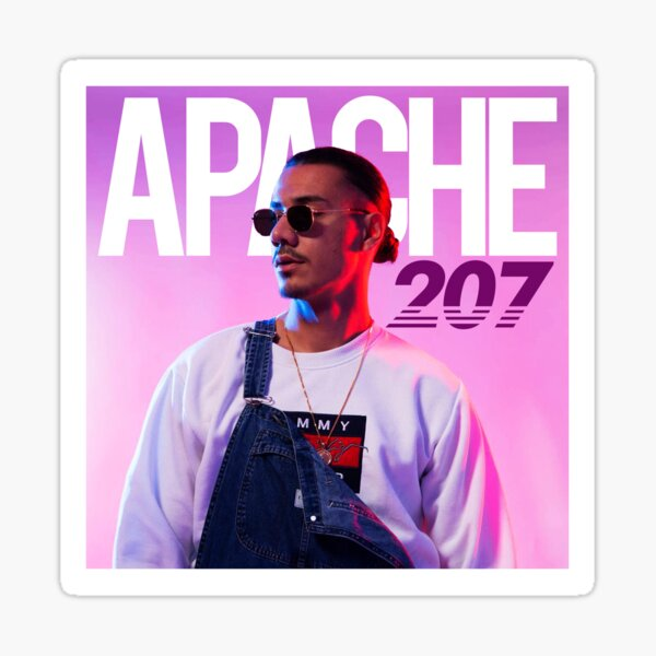 APACHE 207 Tommy Sticker