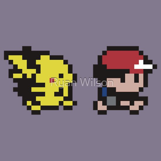 TShirtGifter presents: Ash and Pikachu