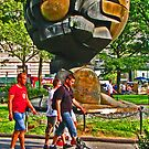 """""""The Sphere"""" sculpture - Battery Park - New York, New York by michael6076"""