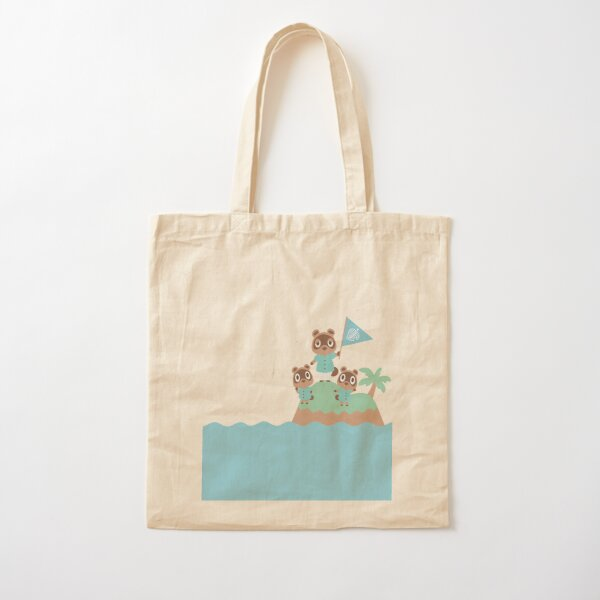 Animal Crossing: New Horizons--Tom, Timmy, and Tommy Cotton Tote Bag
