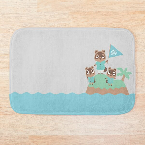 Animal Crossing: New Horizons--Tom, Timmy, and Tommy Bath Mat