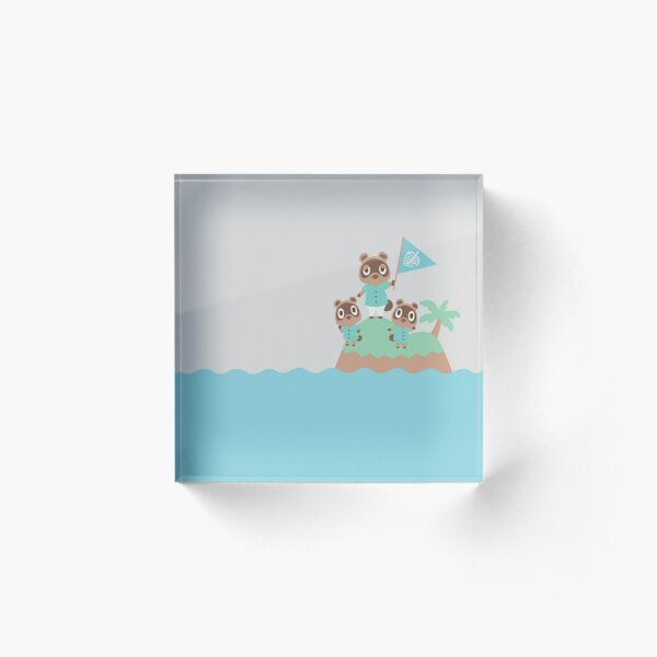 Animal Crossing: New Horizons--Tom, Timmy, and Tommy Acrylic Block