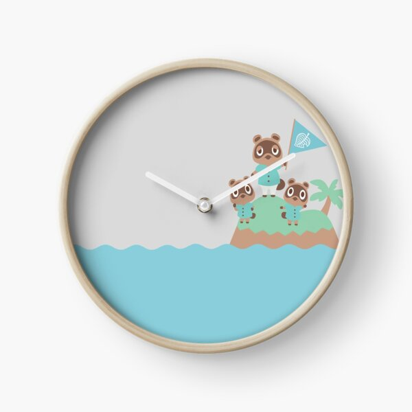 Animal Crossing: New Horizons--Tom, Timmy, and Tommy Clock