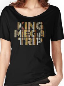 King Megatrip Neo Logo - Vinyl Women's Relaxed Fit T-Shirt