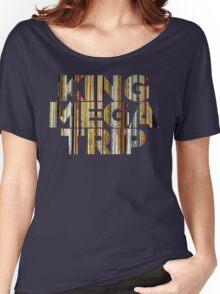 King Megatrip Neo Logo - Vinyl Women's Relaxed Fit T-Shirt