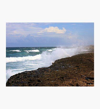 Aruba the Windward Side  Photographic Print