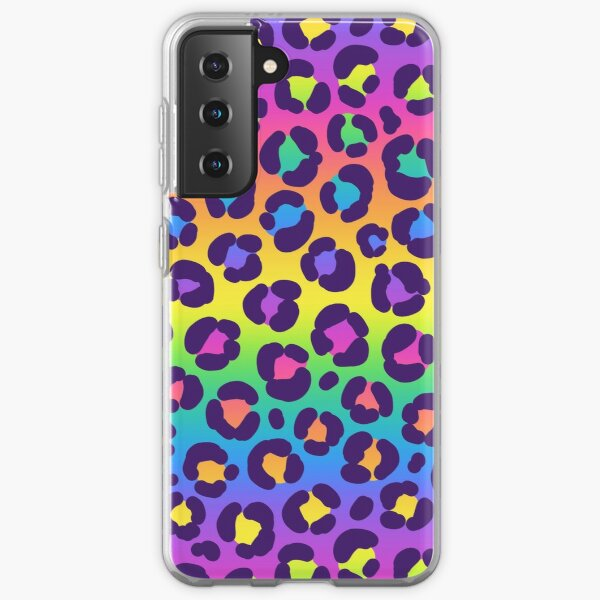 Rainbow Leopard Samsung Galaxy Soft Case