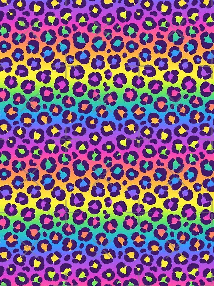 Rainbow Leopard by Kawiku