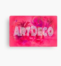 Art Deco Canvas Print