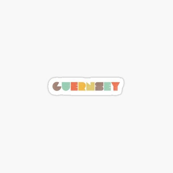 Guernsey Vintage Sticker