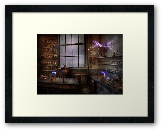 Steampunk - The Mad Scientist by Michael Savad
