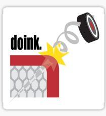 Funny Hockey Sticker