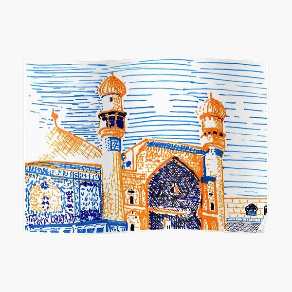 Imam Ali Mosque, Najaf Poster