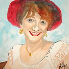 Jupie in a Red Hat by Jim Phillips