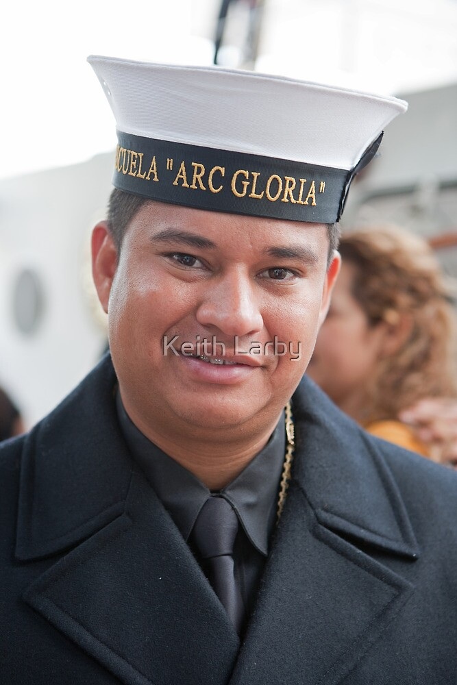 "A navy sailor from ""ARC GLORIA"". by Keith Larby"