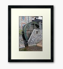 A water mill at Buckfastleigh Abbey Framed Print