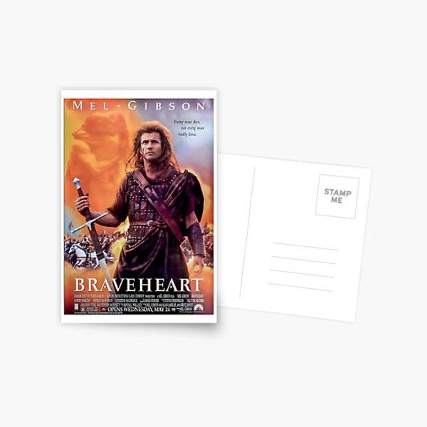 Affiche du film Braveheart Carte postale