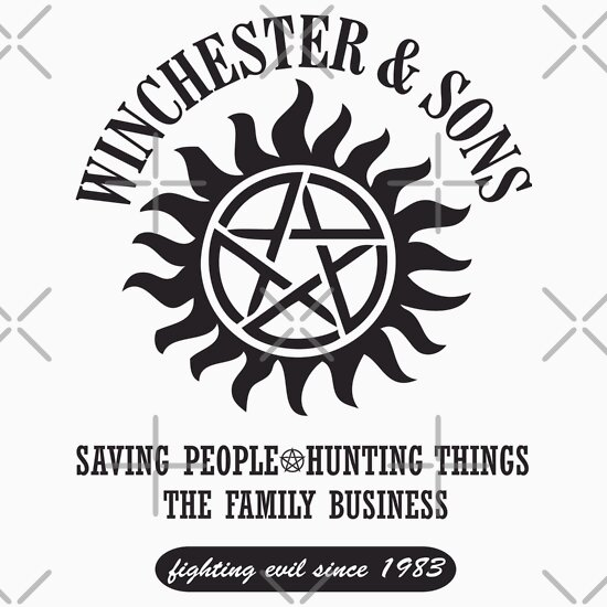 TShirtGifter presents: T-SHIRT SUPERNATURAL WINCHESTER & SONS