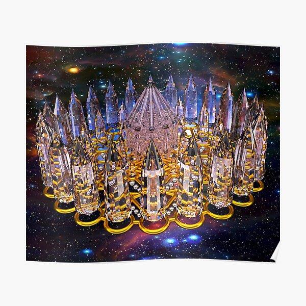 Crystal Merkaba Matrix Stargate Poster
