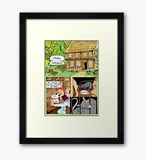 Bringing a Needle to a Rat Fight page1 Framed Print