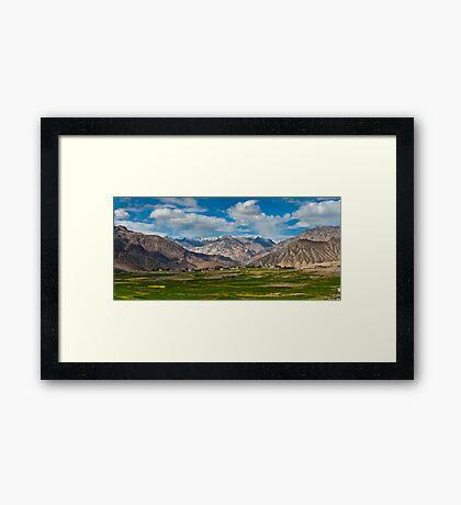 Nubra Valley-5/2011 Framed Print