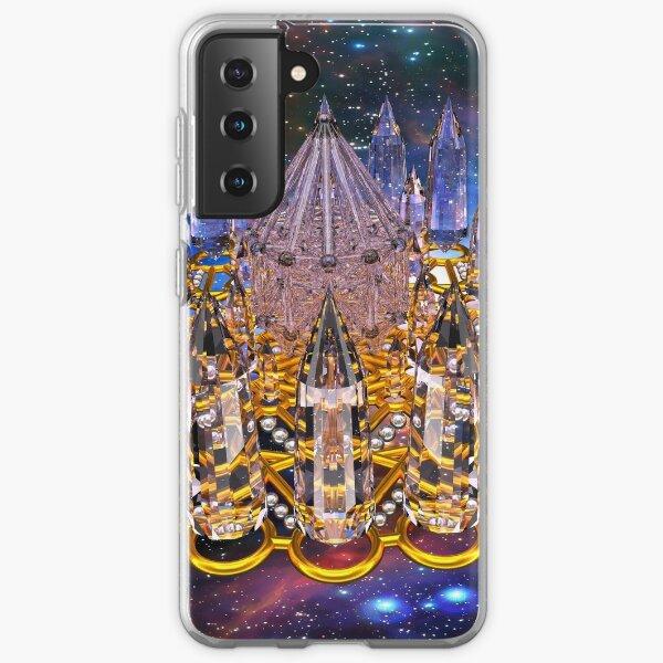 Crystal Merkaba Matrix Stargate Samsung Galaxy Soft Case