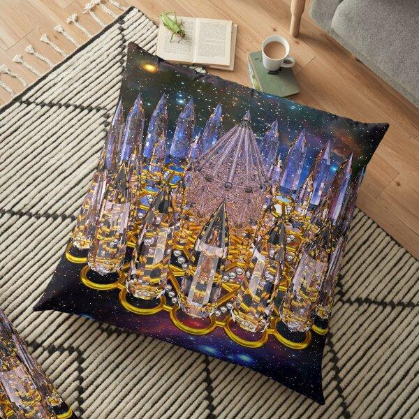 Crystal Merkaba Matrix Stargate Floor Pillow