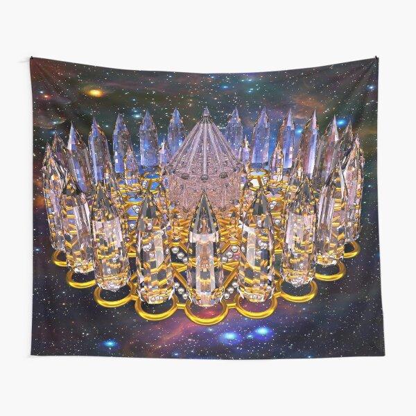 Crystal Merkaba Matrix Stargate Tapestry