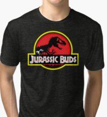Jurassic Buds (red) Tri-blend T-Shirt