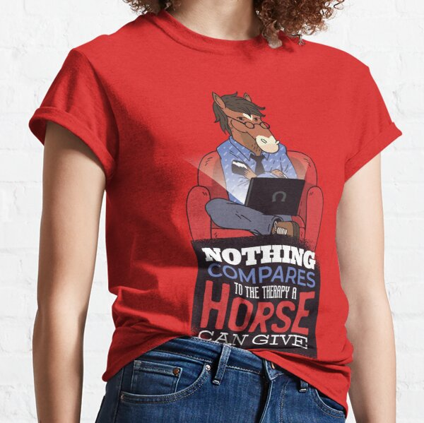 Therapy Horse WOMEN/'S T-shirt