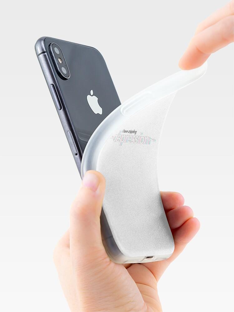 """""I Have Crippling Depression"" Vine Text"" iPhone Case ..."