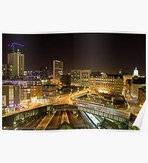 birmingham cityscape Poster