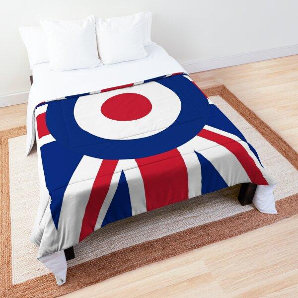 Union Jack and Mod Logo Combination Comforter