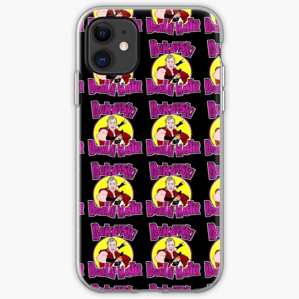 Bukowski - Drunken Master iPhone Case & Cover