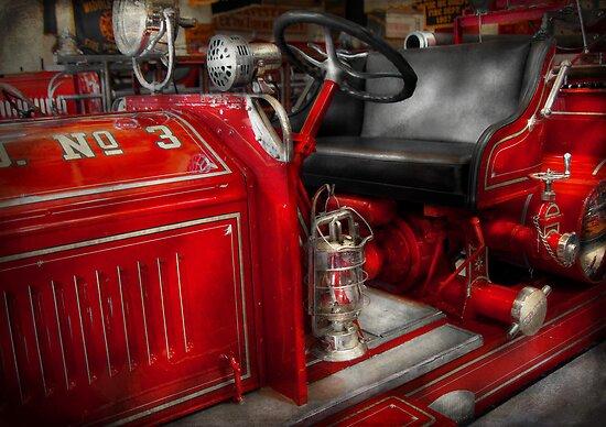 Fireman - Fire Engine No 3 by Michael Savad