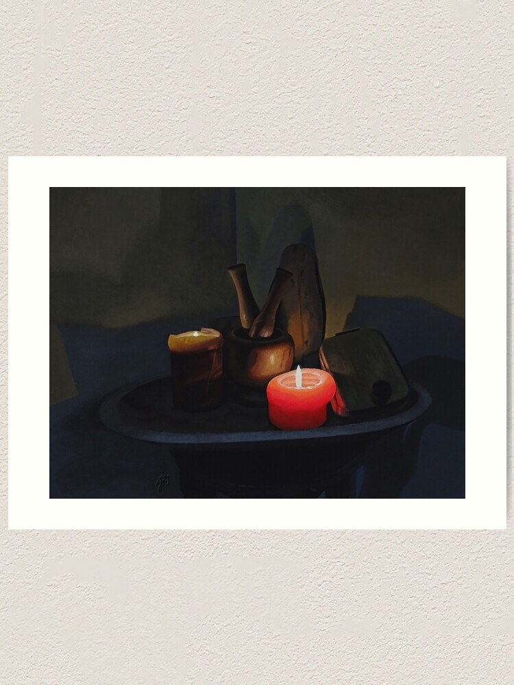 Alternate view of In the Panamanian Kitchen Art Print