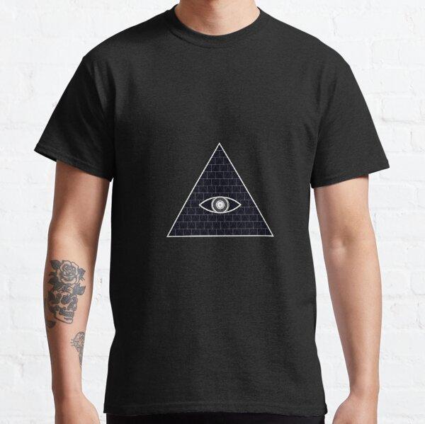 Illuminati Mason Masonic Pyramid Dollar Eye Ladies Mens ORGANIC T-Shirt Hipster