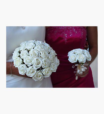 Wedding Posies Photographic Print
